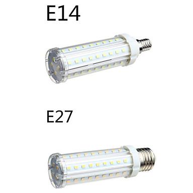E14 E26/E27 Lâmpadas Espiga T 58 leds SMD 2835 Branco Quente Branco Frio 1650lm 2800-3200/6000-6500K AC 100-240V
