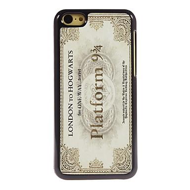 design de alumínio postal do vintage caso de alta qualidade para iphone 5c