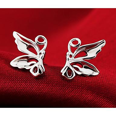 Σκουλαρίκι Κουμπωτά Σκουλαρίκια Κοσμήματα 2pcs Γάμου / Πάρτι / Καθημερινά / Causal Επάργυρο Γυναικεία Ασημί