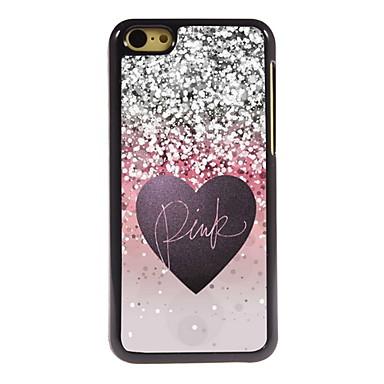 roze ontwerp aluminium hoge kwaliteit case voor de iPhone 5c