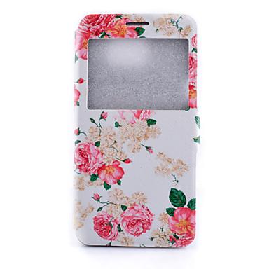Για Samsung Galaxy Note με βάση στήριξης tok Πλήρης κάλυψη tok Λουλούδι Συνθετικό δέρμα Samsung Note 5