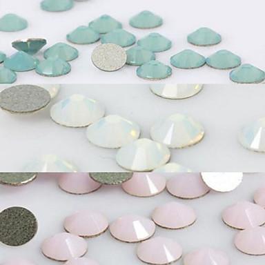 50 - 7X4X0.2 - Αφηρημένο - Κοσμήματα Νυχιών - για Δάχτυλο/Δάκτυλο Ποδιού - από Άλλα