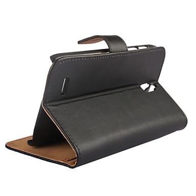 lederen portemonnee stijl hoesje voor huawei g610 hoesjes / covers voor Huawei