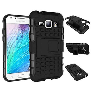 Para Samsung Galaxy Capinhas Antichoque / Com Suporte Capinha Capa Traseira Capinha Armadura PC Samsung J1