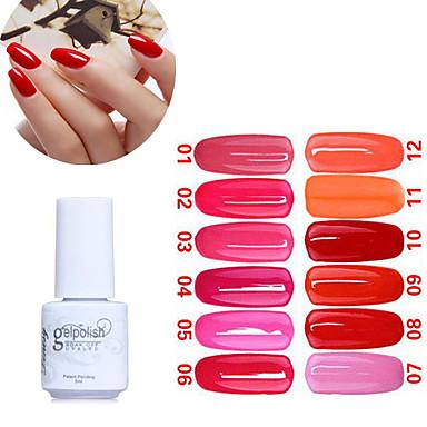Esmalte Gel UV 5ML 1 UV Color Gel Clássico De Mergulhar para Longa Proteção Diário UV Color Gel Clássico Alta qualidade