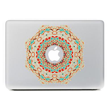 κυκλική λουλούδι 12 διακοσμητικό αυτοκόλλητο δέρμα για MacBook Air / Pro / Pro με οθόνη Retina