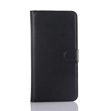 Para Samsung Galaxy Capinhas Porta-Cartão / Carteira / Com Suporte / Flip Capinha Corpo Inteiro Capinha Cor Única Couro PU SamsungS6 edge