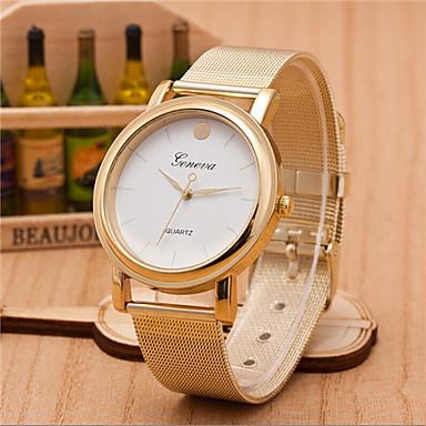 Geneva Heren Polshorloge Modieus horloge Kwarts Hot Sale Legering Band Amulet