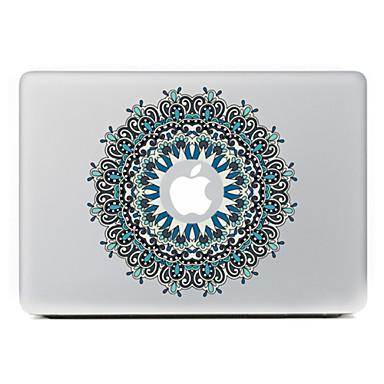 κυκλική λουλούδι 21 διακοσμητικό αυτοκόλλητο δέρμα για MacBook Air / Pro / Pro με οθόνη Retina
