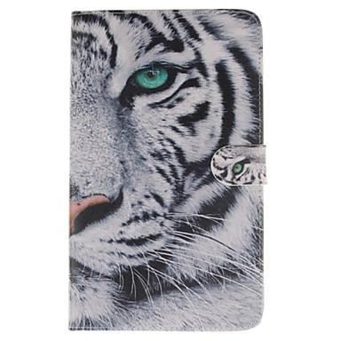 Para Samsung Galaxy Capinhas Carteira / Porta-Cartão / Com Suporte / Flip / Estampada Capinha Corpo Inteiro Capinha Animal Couro PU