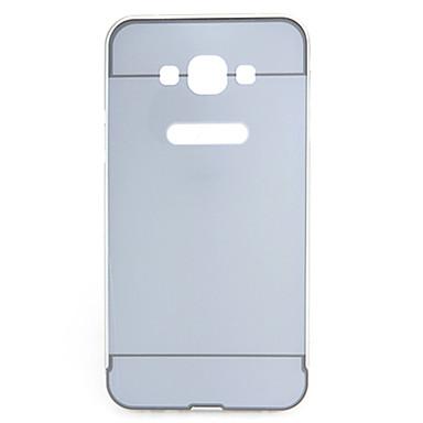 Para Samsung Galaxy Capinhas Cromado Capinha Capa Traseira Capinha Cor Única PC Samsung S5
