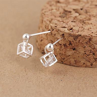 Σκουλαρίκι Κρεμαστά Σκουλαρίκια Κοσμήματα 2pcs Γάμου / Πάρτι / Καθημερινά Ασήμι Στερλίνας Ασημί