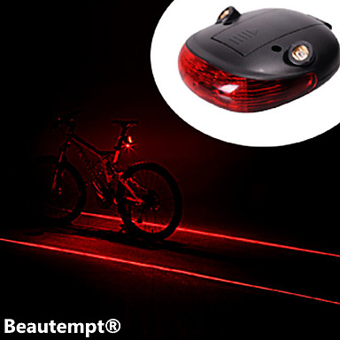 Bike Lights Rear Bike Light Laser LED Cycling Impact Resistant Waterproof Laser Lithium Battery Lumens Battery Cycling/Bike