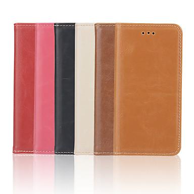 iphone 7 mais louco ma alto padrão de qualidade de luxo pu estojo de couro carteira de 5,5 polegadas para iphone 6s 6 mais