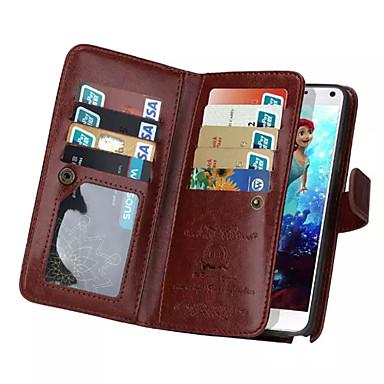케이스 제품 iPhone 5 Apple 아이폰5케이스 카드 홀더 지갑 플립 전체 바디 케이스 한 색상 하드 PU 가죽 용 iPhone SE/5s iPhone 5