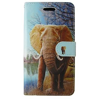 tok Για Huawei P8 Άλλο Huawei Huawei P8 Lite P8 Lite P8 Θήκη Huawei Θήκη καρτών Πορτοφόλι με βάση στήριξης Πλήρης Θήκη Ελέφαντας Σκληρή