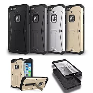 ειδική σχεδίαση μέταλλο πλαστικό σιλικόνης πίσω κάλυψη για το iphone 6 συν