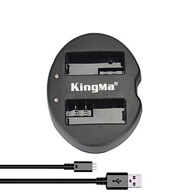 kingma® dual slot usb lader voor Canon LP-E8 accu voor EOS 550D 600D 650D 700D camera