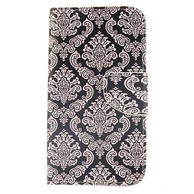 tok Για Samsung Galaxy Samsung Galaxy Θήκη Θήκη καρτών Πορτοφόλι με βάση στήριξης Ανοιγόμενη Πλήρης Θήκη Λουλούδι PU δέρμα για J5