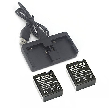 Accessories Battery Charger Battery High Quality For Action Camera Gopro 3 Gopro 3+ Sports DV Polycarbonate