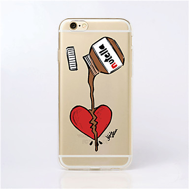 Capinha Para iPhone 5 Apple Capinha iPhone 5 Ultra-Fina Transparente Estampada Capa traseira Desenho Animado Macia TPU para iPhone SE/5s