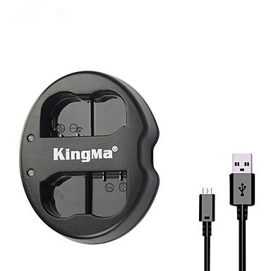 kingma® dupla entrada USB carregador de bateria para Nikon bateria en-EL15 para Nikon D750 D7100 D7000 D610 câmera d600 D800E