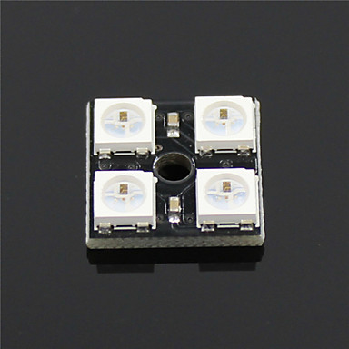 ws2812b-4-bits RGB LED full colour module ontwikkeling boord voor Arduino