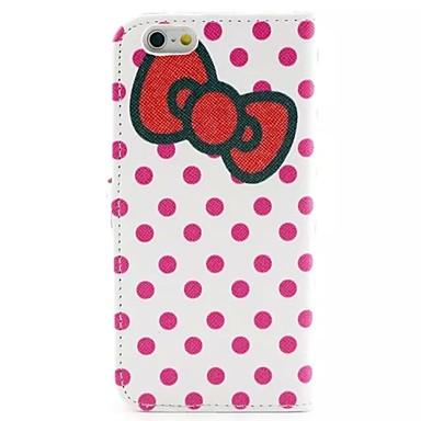 Capinha Para Apple iPhone 6 iPhone 6 Plus Porta-Cartão Carteira Com Suporte Flip Capa Proteção Completa Azulejo Rígida PU Leather para