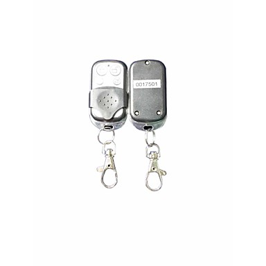 1-Way Car Alarm Protection System with 2 Remote Control
