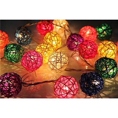 YouOKLight 20 LEDs RGB Αλλάζει Χρώμα AC100-240 AC 100-240V