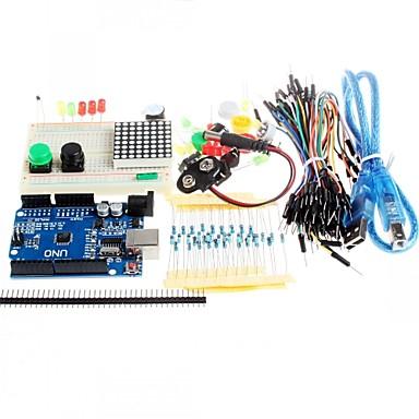 botão jumper novo uno starter kit r3 mini-placa de ensaio levou para compatile arduino