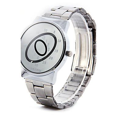 Homens Quartzo Único Criativo relógio Relógio de Pulso Venda imperdível Lega Banda Amuleto Prata