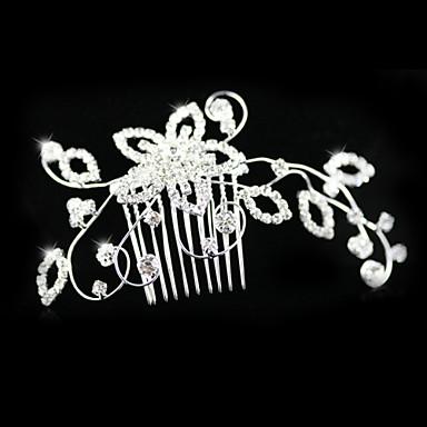 κράμα / rhinestone χτένες μαλλιών γάμο / κόμμα 1pc κλασικό θηλυκό στυλ