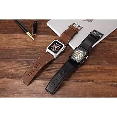 Pulseiras de Relógio para Apple Watch Series 3 / 2 / 1 Apple Tira de Pulso Fecho Clássico Couro Legitimo