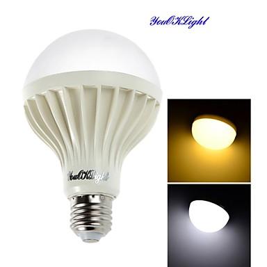 E26/E27 LED-bollampen A70 18 leds SMD 5630 Decoratief Warm wit Koel wit 900lm 3000/6000K AC 220-240V