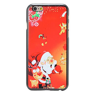 Voor iPhone 6 hoesje / iPhone 6 Plus hoesje Patroon hoesje Achterkantje hoesje Kerstmis Hard PC iPhone 6s Plus/6 Plus / iPhone 6s/6
