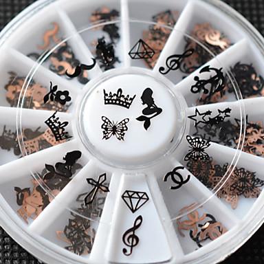 1pcs Biżuteria do paznokci Metaliczny Modny Wysoka jakość Codzienny