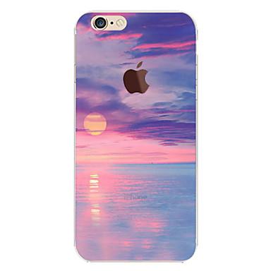fodral Till Apple iPhone 6 iPhone 6 Plus Genomskinlig Mönster Skal Landskap  Mjukt TPU för iPhone 6e9d6386207ef