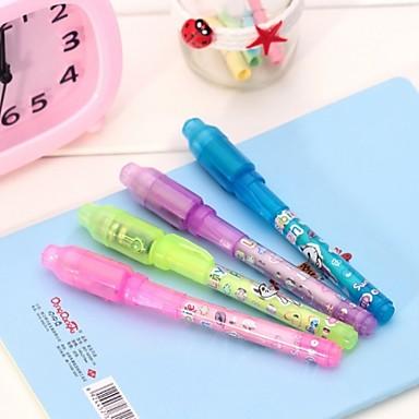 3pcs canetas de caligrafia invisíveis (cor aleatória)