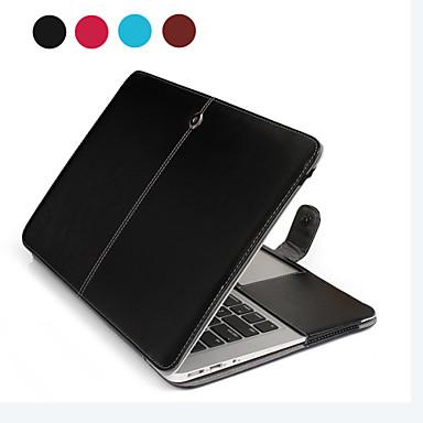 Asling notebook pu couro para Apple MacBook ar 13.3