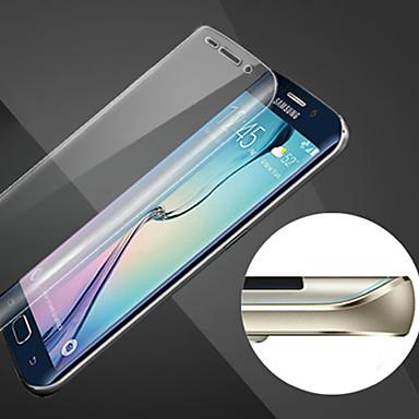 krasvast sfeer volledige dekking van hd vingerafdruk-proof staal soft glas film voor samsung galaxy s6 rand +