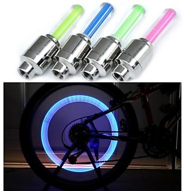 other Luzes de Bicicleta Outro 1 1 Modo 90 Moto Bateria 3 AG10 Cores em mudança Ciclismo / Condução / motocycle 0 Transparente