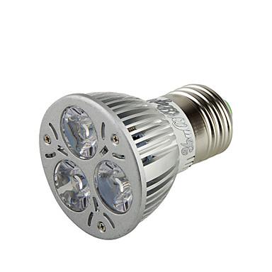 E26/E27 Lâmpadas de Foco de LED A50 3 leds LED de Alta Potência Decorativa Branco Quente 300lm 3000K AC 220-240 AC 110-130V