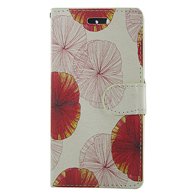 tok Για Samsung Galaxy Samsung Galaxy Θήκη Θήκη καρτών Πορτοφόλι με βάση στήριξης Ανοιγόμενη Πλήρης Θήκη Λουλούδι PU δέρμα για S5 Mini S5