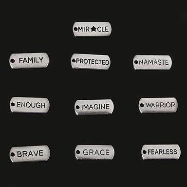 beadia antiek zilver krijger mircle genoeg genade onverschrokken dappere stel familie beschermde metalen charme hangers