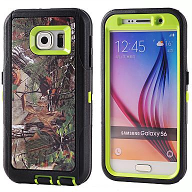 hoesje Voor Samsung Galaxy Schokbestendig Achterkant Schild PC voor S6 S5 S4 S3