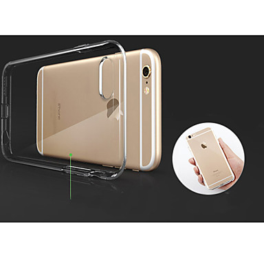 Etui Til Apple iPhone 8 / iPhone 8 Plus / iPhone XS Transparent Bagcover Ensfarvet Blødt TPU for iPhone XS / iPhone XR / iPhone XS Max