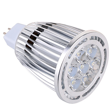 GU5.3 (MR16) LED-spotlampen MR16 7 leds SMD Decoratief Warm wit Koel wit 850lm 2800-3200/6000-6500K AC 85-265 AC 12V
