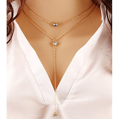 Mulheres Fashion colares em camadas colares em camadas , Ocasião Especial Aniversário Presente