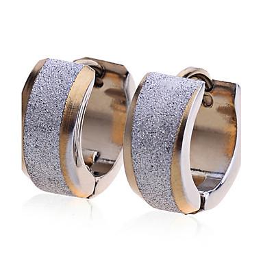 Dames Roestvast staal Verguld Oorknopjes - Modieus Europees Gouden oorbellen Voor Feest Dagelijks Causaal